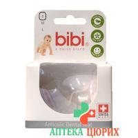 Bibi Sauger Dental Silikon fur Tee Duo 2 штуки