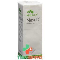 Месофт компрессы 5х5 см нестерильные 100 шт.