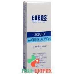 Eubos Seife жидкость Unparfumiert Blau Dosierspender 400мл