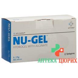Nu гель Hydrogel mit Alginat 6x 25г
