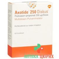 Аксотид 250 мкг диск мультидозовый 60 доз