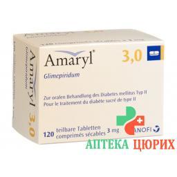 Амарил 3 мг 120 таблеток