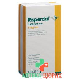 Риспердал раствор 1 мг/мл 100 мл