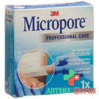 3M Micropore Vlies Heftpflaster ohne Dispenser 12.5мм x 5m weiss