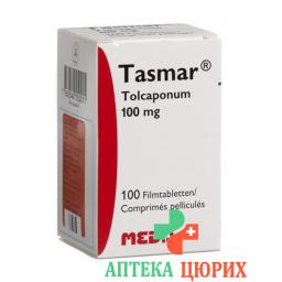 Тасмар 100 мг 100 таблеток покрытых оболочкой