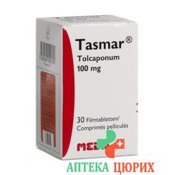 Тасмар 100 мг 30 таблеток покрытых оболочкой