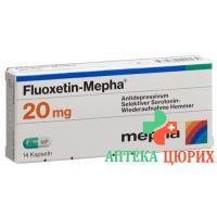 Флуоксетин Мефа 20 мг 14 капсул