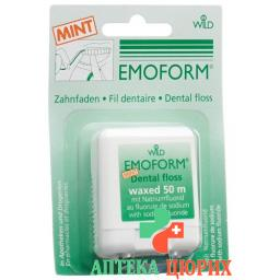 Emoform Zahnfaden Mint 50м