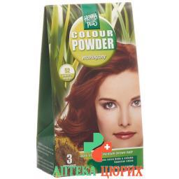 Henna Plus Color Powder 52 Mahagony 100г