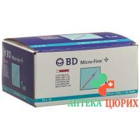 BD Microfine+ U40 Insulin Spritze 100x 1мл