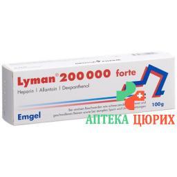 Лиман 200 000 Форте эмгель 100 г