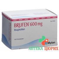Бруфен 600 мг 100 таблеток покрытых оболочкой