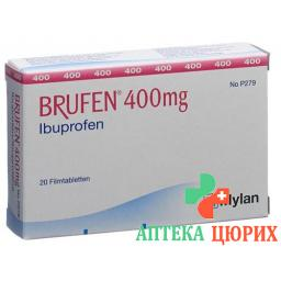 Бруфен 400 мг 20 таблеток покрытых оболочкой