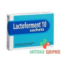 Лактофермент порошок 10 пакетиков по 10 г