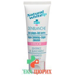 Natural White TP Zahnweiss Anti Plaque Fluor 75мл
