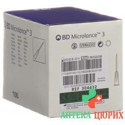 BD Microlance 3 Injektionskanule 0.80x40мм Grun 100 X