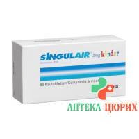 Сингуляр 5 мг 98 жевательных таблеток для детей