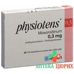 Физиотенс 0.3 мг 28 таблеток