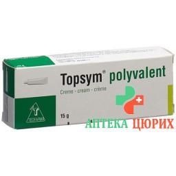 Топсим Поливалент крем тюбик 15 грамм