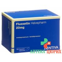 Флуоксетин Хелвефарм 20 мг 100 капсул