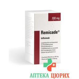 Ремикейд 100 мг флакон
