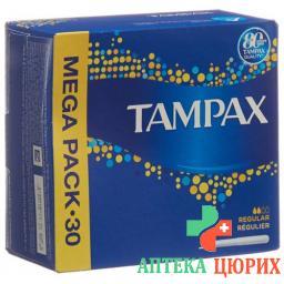 Tampax Regular Tampons 30 штук