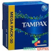Tampax Super Tampons 30 штук