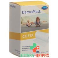 Dermaplast Cofix марлевый бинт 8смx4m Weiss