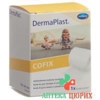 Dermaplast Cofix марлевый бинт 6смx4m Weiss