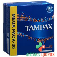 Tampax Super Plus Tampons 30 штук
