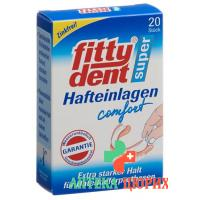 Fittydent Super Hafteinlagen Comfort 20 штук