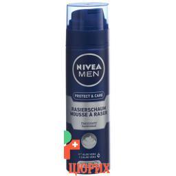 Nivea Men Original-Mild Rasierschaum 200мл