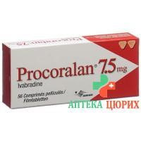 Прокоралан 7,5 мг 56таблеток покрытых оболочкой