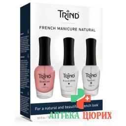 Trind French Manicure Set 3 Flasche 9мл