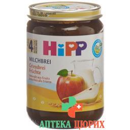 Hipp Milchbrei Griessbrei Fruchte 190г