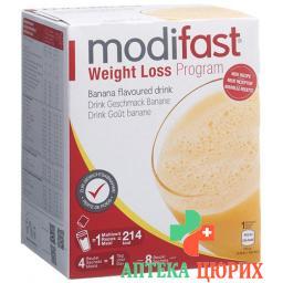 Модифаст программа потери веса напиток банановый 8x55 грамм