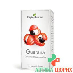 Phytopharma Guarana в капсулах 100 штук