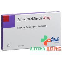Пантопразол Штройли 40 мг 15 таблеток покрытых оболочкой