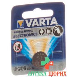 VARTA BATTERIE CR1632 LITHIUM