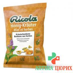 Рикола Мёд-Травы травяные леденцы 125 г
