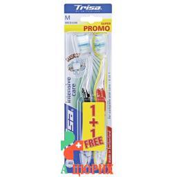 Trisa Intensive Care зубная щётка Medium Duo 2 штуки