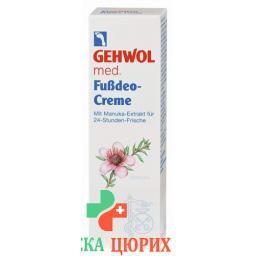 Gehwol Med Fussdeo крем в тюбике 75мл