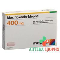 Моксифлоксацин Мефа400 мг 5 таблеток покрытых оболочкой