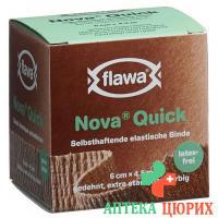 Flawa Nova Quick самоклеющиеся бинт 6смx4м