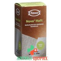 Flawa Nova Haft самоклеющиеся марлевый бинт 10смx4м