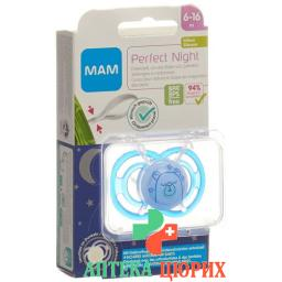 MAM Perfect Night Nuggi 6 bis для 16-месячных