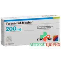 Торасемид Мефа 200 мг 100 таблеток