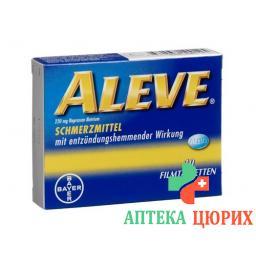 Алив 220 мг 12 таблеток покрытых оболочкой