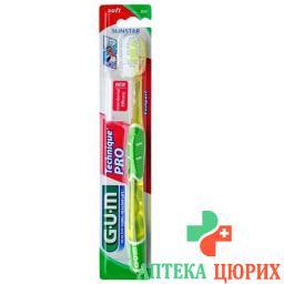 Gum Sunstar Technique Pro зубная щётка Compact Soft