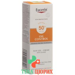 Eucerin Sun Gel-Creme Oil Control LSF 50+ 50мл